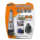 Chicago Power Tool 9.6 Volt Cordless Rotary Tool Set