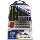 Chicago Power Tools 20 pc. Drill/ Driver Set