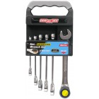 ChannelLock 6 pc. Ratcheting Wrench Set Metric Sizes