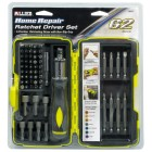 62 pc. Ratcheting Driver Set