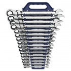 GearWrench 16 Pc. Flex Ratcheting Combination Wrench-Metric