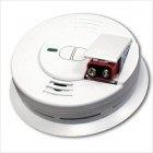 Front Loading Battery Operated Smoke Alarm
