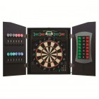 Bullshooter Cricket Maxx 5.0 Electronic Dartboard Cabinet Set
