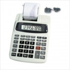 10 Digit AC/DC Commuter Printing Calculator with Adaptor