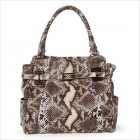 Elliott Lucca Cordoba Tote in Coffee Exotic