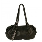 Phoebe Satchel in Black