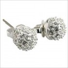 Carolee Crystal Stud Earrings