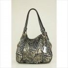 Seam Work Shopper Zebra Print