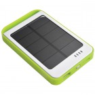 Portable Solar Battery Bank Green