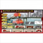 Super City Elevated Rails Train Set