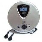 Personal CD MP3 Player Silver