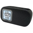 Bluetooth Alarm Clock with USB Black