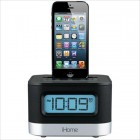 Lightning Dock With Clock Radio