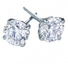 1/3 carat total weight 14K White Gold