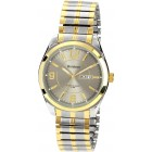 Men's Two-Tone Expansion Band Dress Watch