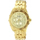 Men's Stainless Steel Gold Tone Watch