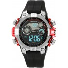 Men's Digital Sport w/ Red Metalized Accents Watch
