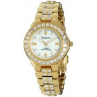 Women's Swarovski Crystal Accented Gold-Tone Watch