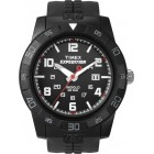 Men's Expedition Rugged Analog Black Resin Strap Watch