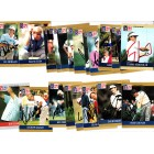26 autographed 1990 Pro Set PGA Tour golf cards Tom Watson Fred Couples Ben Crenshaw Mark O'Meara Nick Price