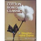 1979 Cotton Bowl college football program Joe Montana Notre Dame Chicken Soup Game (flawed)