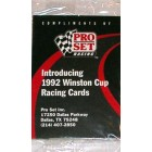 1992 Pro Set Racing set of 3 promo or prototype cards (Dale Earnhardt)