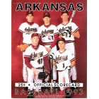 1993 Arkansas Razorbacks scorecard (Coach Norm DeBriyn)