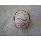 1999 New York Yankees World Series Champions team autographed AL baseball Roger Clemens Derek Jeter Tino Martinez Paul O'Neill Andy Pettitte Jorge