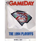 1994 Miami Dolphins vs Kansas City Chiefs AFC Wild Card Playoff Game program (Joe Montana last game)
