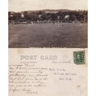 1907 Earlville vs Morrisville (New York) baseball photo postcard