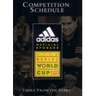 1999 FIFA Women's World Cup soccer Adidas pocket schedule