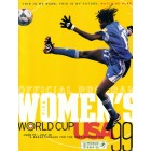 1999 FIFA Women's World Cup WWC soccer program