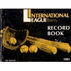 1982 International League Record Book (Wade Boggs Cal Ripken)
