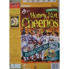 1997 Florida Marlins team autographed World Series Champions cereal box (Bobby Bonilla Kevin Brown Jeff Conine Livan Hernandez Charles Johnson Jim