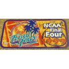 1999 NCAA Final Four logo plastic license plate (UConn wins first National Championship)