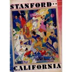 1928 Stanford Cardinal vs Cal Bears college football game program