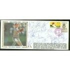 1988 USA Olympic Baseball Gold Medal Team autographed Gateway cachet envelope (Jim Abbott Tino Martinez Robin Ventura)