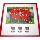2007 U.S. Solheim Cup Team autographed photo matted & framed (Paula Creamer Beth Daniel Natalie Gulbis Betsy King)