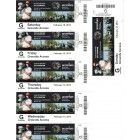 2013 WGC Accenture Match Play Championship full week ticket set (Matt Kuchar Hunter Mahan)