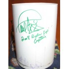 2008 Ryder Cup Valhalla hole 16 cup liner autographed by Paul Azinger