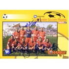 2002 WUSA Philadelphia Charge team autographed photo (Mandy Clemens Lorrie Fair Heather Mitts)