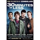 30 Minutes or Less mini movie poster (Jesse Eisenberg Nick Swardson)