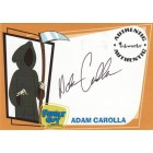 Adam Carolla Family Guy certified autograph card