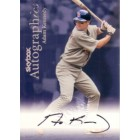 Adam Kennedy certified autograph St. Louis Cardinals 1999 SkyBox Autographics card
