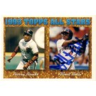 Albert Belle autographed Cleveland Indians 1994 Topps card