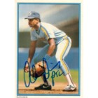 Alvin Davis autographed Seattle Mariners 1985 Topps All-Star card