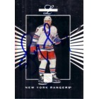 Alexei Kovalev autographed New York Rangers 1994 Leaf Limited card