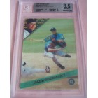 1994 Sportflics Rookie Traded set with Alex Rodriguez Rookie Card graded BGS 8.5
