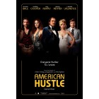 American Hustle full size 27x40 movie poster (Amy Adams Christian Bale Bradley Cooper Jennifer Lawrence Jeremy Renner)