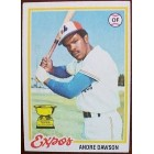 Andre Dawson 1978 Topps card #72 Ex condition